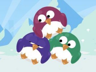 Colorful Penguins - 1