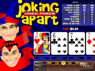 Joking Apart Video Poker - 4