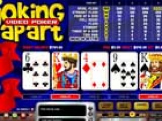 Joking video poker