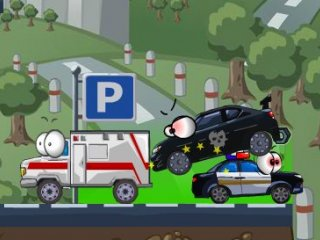 Vehicles 4 Car Toons - 4